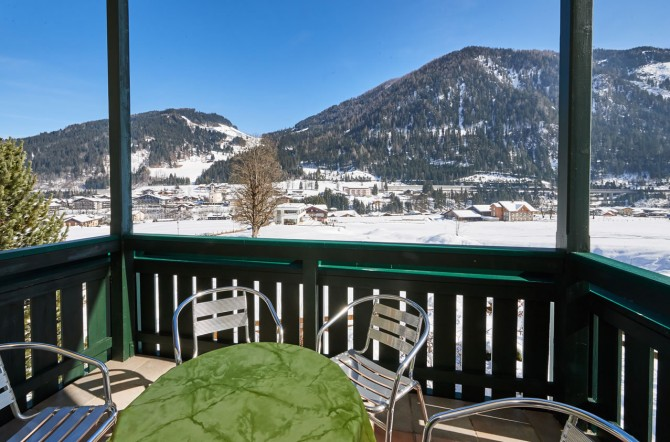 Apartment mit Balkon in Flachau